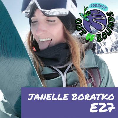 E27 Janelle Boratko – Skiing, Caterpillars, Bikes, and Game of Thrones